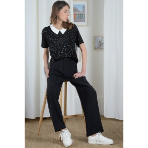 FILLE BLOUSE COL CLAUDINE...